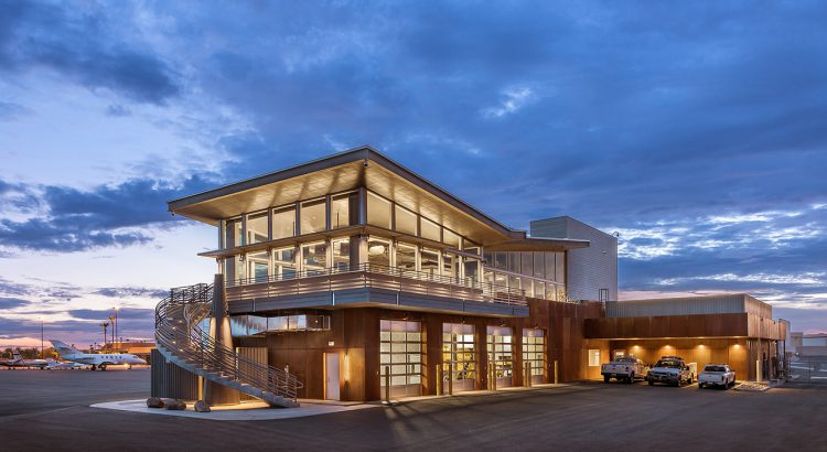 Scottsdale Airport Operations Center Open For Business And Earns Leed Silver State Aviation Journal