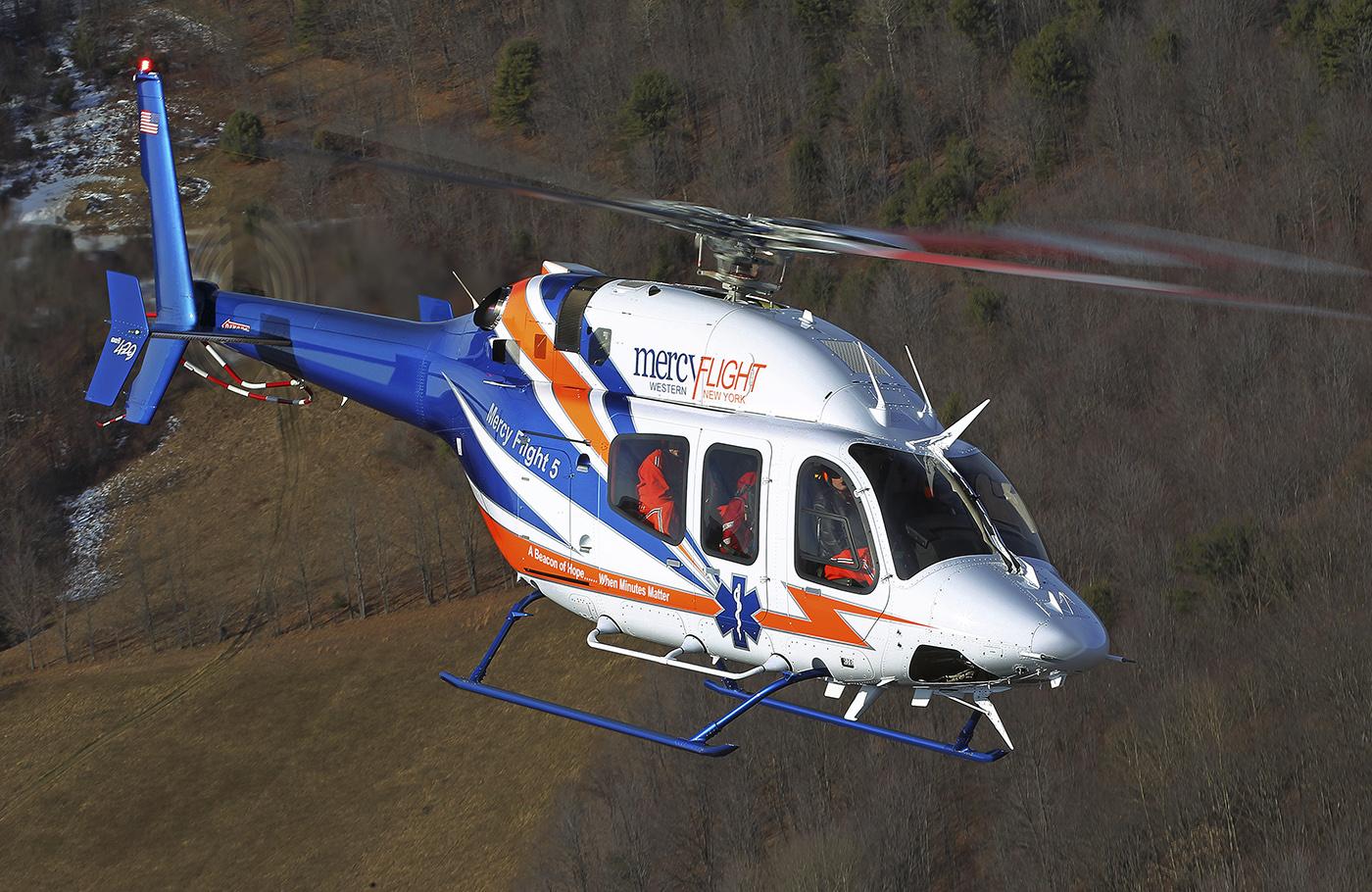 Bell 429 Mercy Flight.  2013