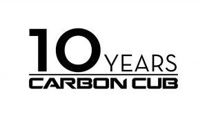 Carbon Cub 10 Year Logo (Black on White)edit