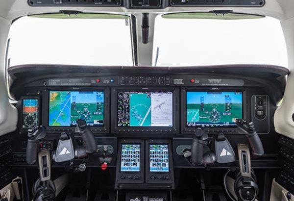 M600 cockpit
