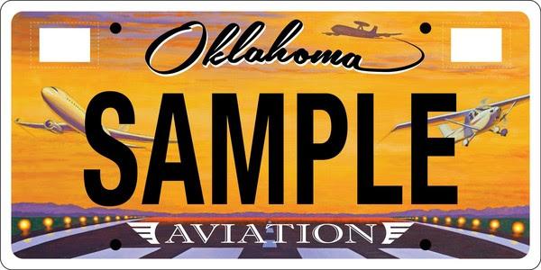 OK License Plate