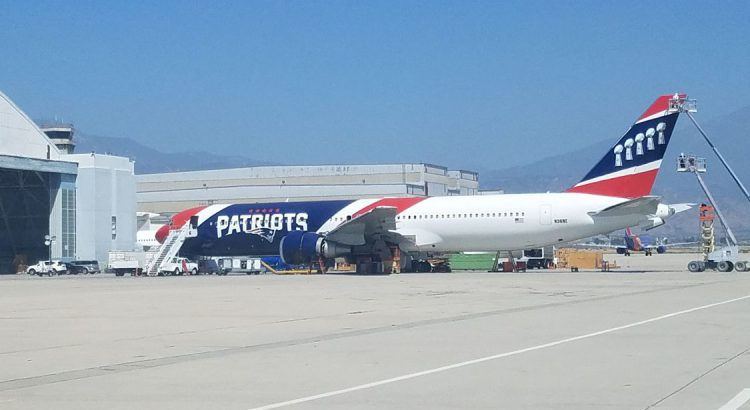 New England Patriots B767