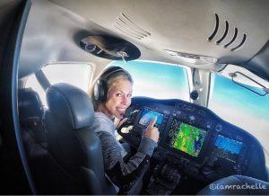 Rachelle, with I Hart Flying