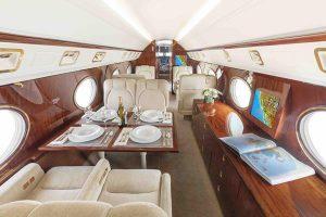 Gulfstream interior