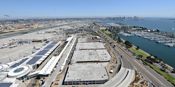 Swinerton Terminal 2 Parking Garage San Diego