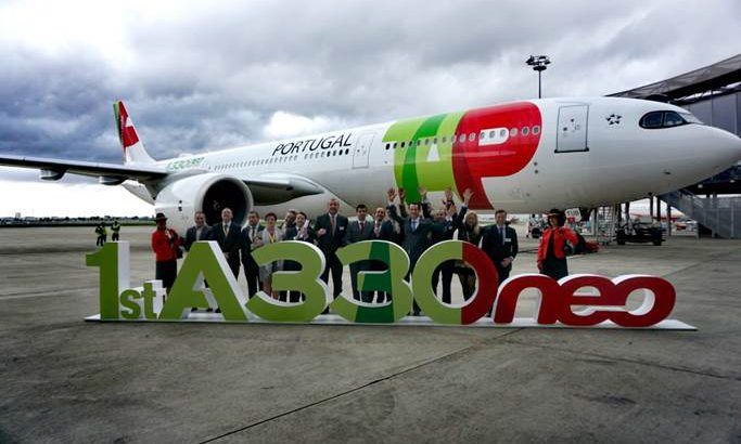 TAP first-a330neo-delivery-to-tap-air-portugal