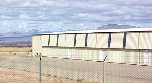 FAA hangar