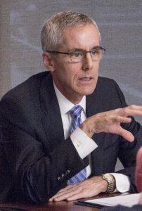 Neffenger speaking during a NASAO Legislative Conference in Washington D.C. Photo by Kim Stevens.