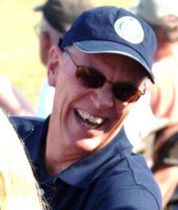 Randy Babbitt at AirVenture in 2009. Photo by Kim Stevens.
