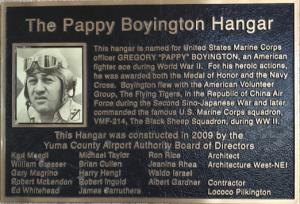 Pappy at Yuma