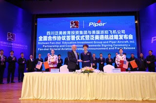 Piper order from China