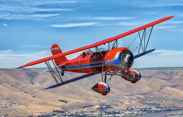 Historic Stearman Speedmail Biplanes To Carry Mail From